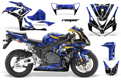 Honda CBR1000RR '06-'07 Reaper in Blue Background