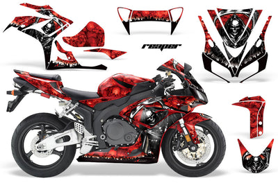 Honda CBR1000RR '06-'07 Reaper in Red Background