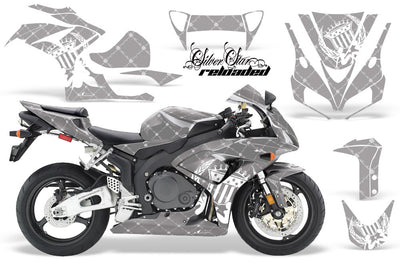 Honda CBR1000RR '06-'07 Reloded Silver Background with White Design