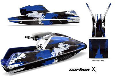 Carbon X - Blue Design only