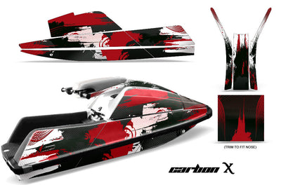 Carbon X - Red Design only