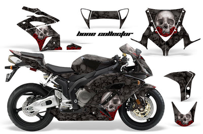Honda CBR1000RR '04-'05 Bone Collector in Black