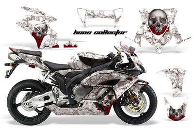 Honda CBR1000RR '04-'05 Bone Collector in White