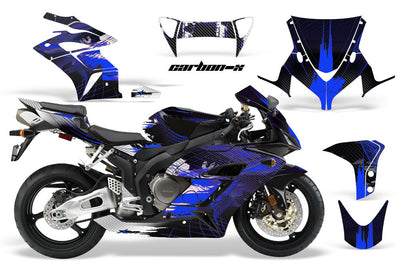 Honda CBR1000RR '04-'05 Carbon X in Blue Design
