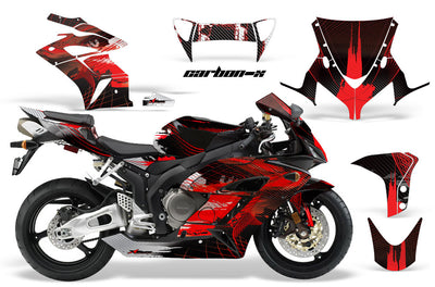 Honda CBR1000RR '04-'05 Carbon X in Red Design