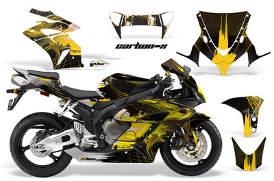 Honda CBR1000RR '04-'05 Carbon X in Yellow Design