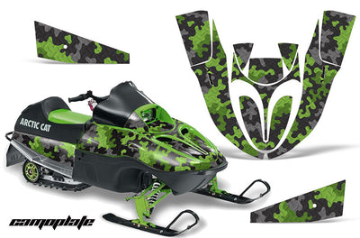 Camo Plate in Green Design