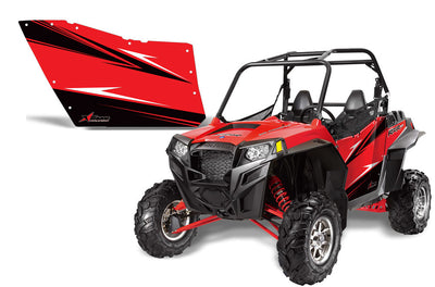 Red  900XP 2 Door Graphics 2011-'12