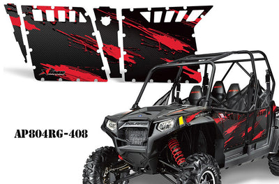 Carbon Fiber Red RZR800S 4 door