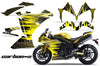 Yamaha R1 '10-'12 Carbon X in Yellow Design