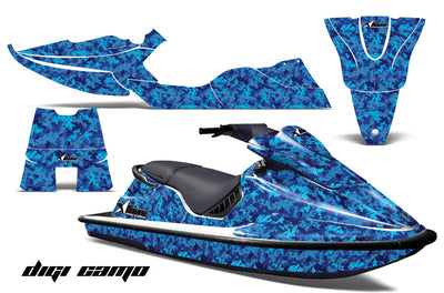 Digi Camo - Blue, Design only