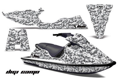 Digi Camo - White, Design only