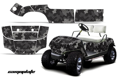 Camo Plate in Black Design
