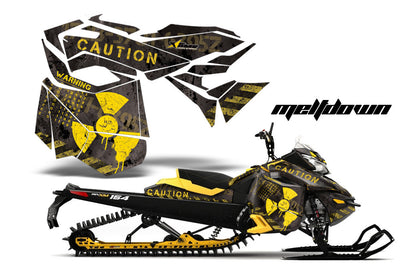 Ski Doo Rev XM Summit Sled Snowmobile Graphic Wrap Kit (2013-2016)