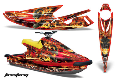 Firestorm - Red Design only