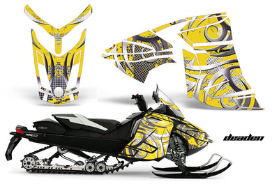 Ski Doo Rev XR Sled Snowmobile Graphics Wrap Kit  (2013-2016)
