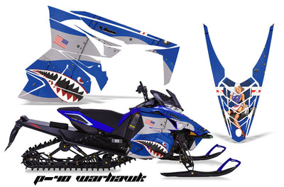 P-40 Warhawk in Blue Design
