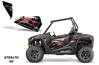 Polaris RZR 900XC 2-Door, Lower-Door OEM Graphics