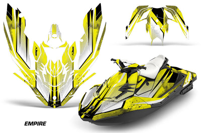 Sea Doo Bombardier Spark (2 UP) Jet Ski Graphics (2015-2016)