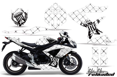 Reloaded White Background Black Design