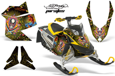 Ski Doo Rev XP Sled Snowmobile Graphic Wrap Kit (2008-2012)