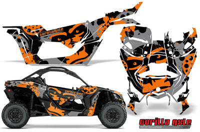 Gorilla Axle - Orange Design