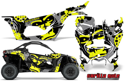 Gorilla Axle - Yellow Design