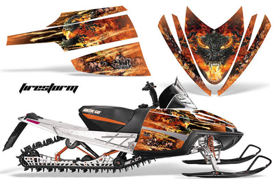 Firestorm in Orange Design