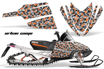 Urban Girl Camo in Orange Design