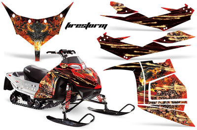 Firestorm in Red Design