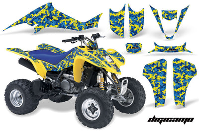 Digi Camo - Blue/Yellow Design (Call Order In)