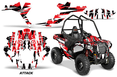 Attack - In Red Design for the Sportsman Ace
