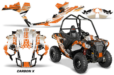 Carbon X - In Orange Design for the New Sportsman Ace
