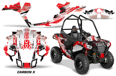 Carbon X - In Red Design for the Sportsman Ace