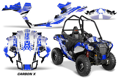 Carbon X - In Blue Design for the Sportsman Ace