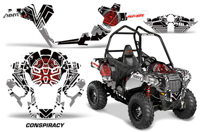 Conspiracy - In Black/ White/Red Design for the Sportsman Ace