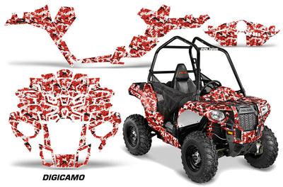 Digi Camo -  In Red Design for the Sportsman Ace