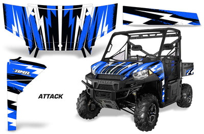 Attack - Blue Design