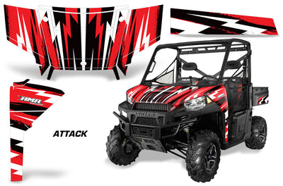 Attack - Red Design