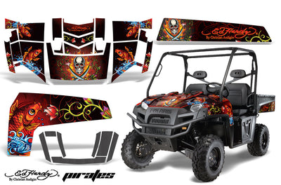 "Ed Hardy ""Pirates"" - RED design"