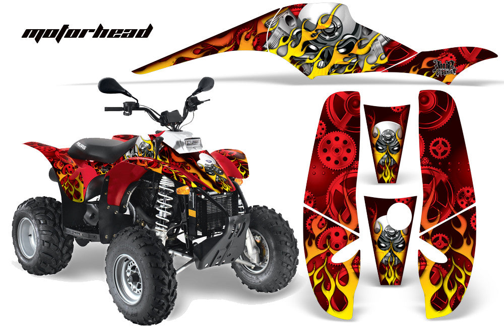 Polaris Scrambler Graphics 1985 2009