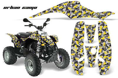 Urban Girl Camo - Yellow Design
