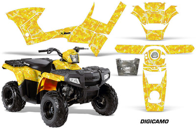 Digi Camo - Yellow Design