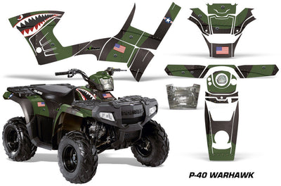 P40 Warhawk - Green Design