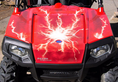 Ride the Lightning - Red Design
