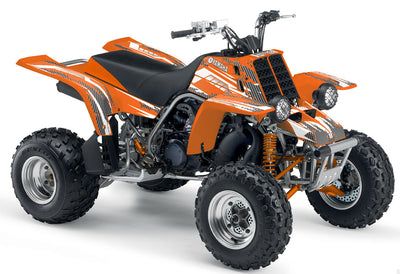 Racer X - Orange Design, White Design