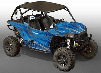 Racer-X - VooDoo Blue Background, Blue Design