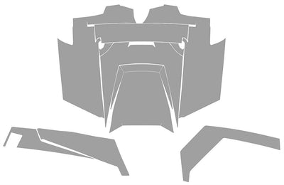 RZR XP 900 decal layout