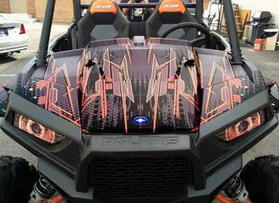 RZR xp 1000 graphics