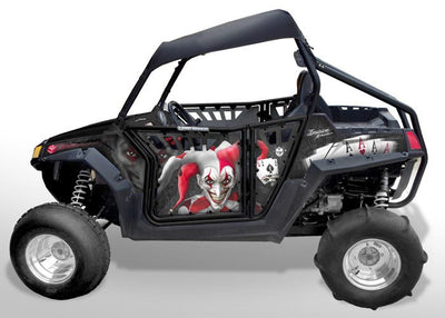 Polaris RZR 900XP 2DR Graphics Kit w/ Full Door Coverage (2011-2014)